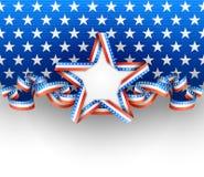 Amerikaanse achtergrond Stock Foto