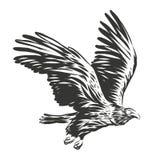 Amerikaanse adelaarsillustratie stock illustratie