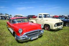 Amerikaanse auto's Stock Foto's