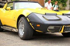 Amerikaanse Auto's en Fietsen Royalty-vrije Stock Fotografie