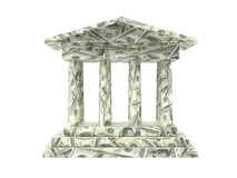 Amerikaanse bank stock afbeeldingen