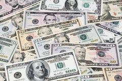 Amerikaanse bankbiljetten Stock Afbeelding
