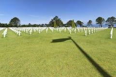 Amerikaanse Begraafplaats stock afbeeldingen