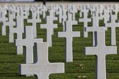 Amerikaanse Begraafplaats in st-James Royalty-vrije Stock Fotografie