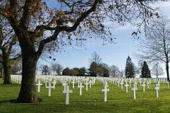 Amerikaanse Begraafplaats in st-James Royalty-vrije Stock Foto's