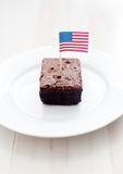 Amerikaanse brownies Royalty-vrije Stock Fotografie