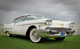 Amerikaanse cadillac Royalty-vrije Stock Afbeelding