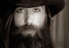 Amerikaanse Cowboy royalty-vrije stock afbeelding