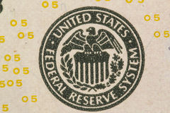 Amerikaanse dollar Royalty-vrije Stock Foto's