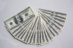 Amerikaanse dollarmunt Royalty-vrije Stock Afbeelding