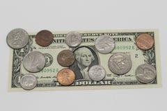Amerikaanse dollarmunt royalty-vrije stock fotografie