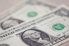 Amerikaanse dollarrekeningen royalty-vrije stock foto