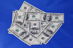 Amerikaanse Dollars Royalty-vrije Stock Afbeelding
