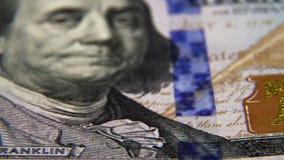 100 Amerikaanse Dollars stock videobeelden