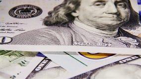 Amerikaanse dollars stock videobeelden