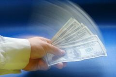 Amerikaanse dollars Stock Foto's