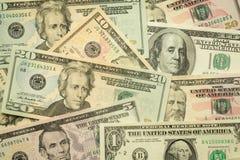 Amerikaanse dollars, Bankbiljet Royalty-vrije Stock Foto