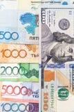 Amerikaanse dollars en tenge van Kazachstan Stock Foto