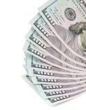 101 Amerikaanse dollarsbankbiljetten Royalty-vrije Stock Foto's