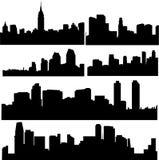 Amerikaanse gebouwen Stock Foto