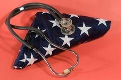 Amerikaanse gezondheidszorg Royalty-vrije Stock Afbeeldingen