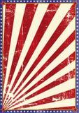Amerikaanse grungeachtergrond Royalty-vrije Stock Foto