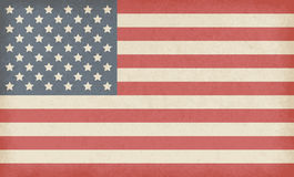Amerikaanse grungevlag Royalty-vrije Stock Fotografie