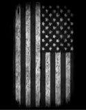 Amerikaanse grungevlag Een Amerikaanse grungevlag voor een achtergrond o Royalty-vrije Stock Foto's
