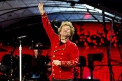 Amerikaanse Harde Popgroep Bon Jovi stock afbeeldingen