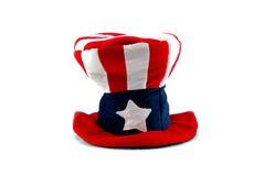 Amerikaanse hoed royalty-vrije stock fotografie