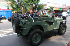 Amerikaanse Jeep Royalty-vrije Stock Fotografie