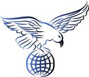 Amerikaanse kale adelaar Royalty-vrije Stock Afbeeldingen