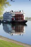 Amerikaanse Keizerin Riverboat Royalty-vrije Stock Foto's