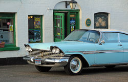 Amerikaanse klassieke de woedeauto van Plymouth Stock Afbeeldingen
