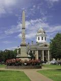 Amerikaanse kleine stad Royalty-vrije Stock Foto