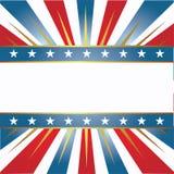 Amerikaanse kleurenachtergrond Stock Illustratie