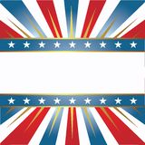 Amerikaanse kleurenachtergrond Stock Afbeelding