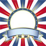 Amerikaanse kleurenachtergrond Royalty-vrije Stock Afbeeldingen