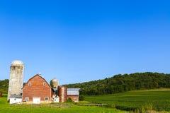 Amerikaanse Landbouwgrond Stock Foto