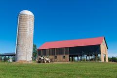 Amerikaanse landbouwgrond Stock Foto's