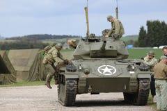 Amerikaanse Legerwereldoorlog 2 G I militair Royalty-vrije Stock Afbeeldingen