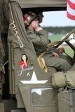 Amerikaanse Legerwereldoorlog 2 G I militairen Stock Afbeeldingen