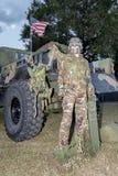 Amerikaanse Militair royalty-vrije stock afbeeldingen
