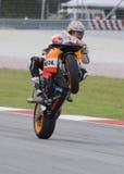 Amerikaanse Nicky Hayden van het Team van Repsol Honda Royalty-vrije Stock Fotografie
