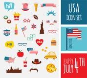 Amerikaanse ontwerpelementen Royalty-vrije Stock Afbeeldingen