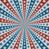 Amerikaanse patriottische achtergrond Royalty-vrije Stock Afbeelding
