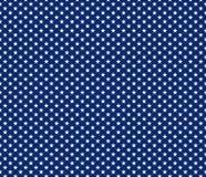 Amerikaanse patriottische naadloze patroon witte sterren op blauwe backgrou royalty-vrije illustratie