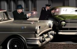Amerikaanse politiejaren '60 Stock Foto's