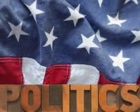 Amerikaanse politiek Royalty-vrije Stock Foto's