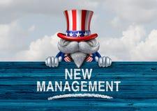 Amerikaanse Politieke Overheidsverandering Stock Afbeelding
